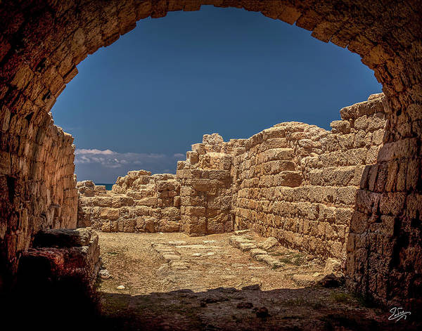 Photograph - Inside The Temple Of Mithras by Endre Balogh