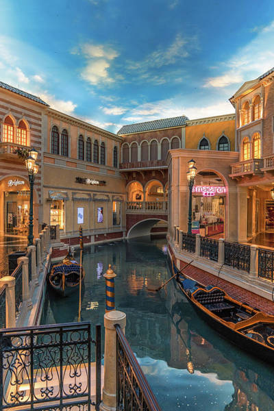 Photograph - Inside The Venetian by Framing Places