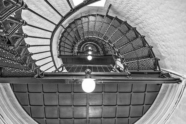 Photograph - Inside Yaquina Head Light by Thomas Gaitley