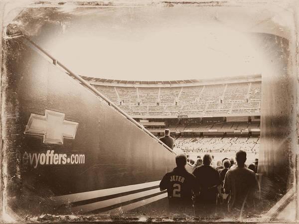 Yankee Stadium Digital Art - Inside The Cathedral Of Baseball IIi by Aurelio Zucco