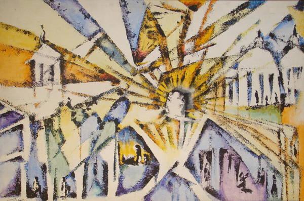 Painting - Inspiration by Eugene Foltuz