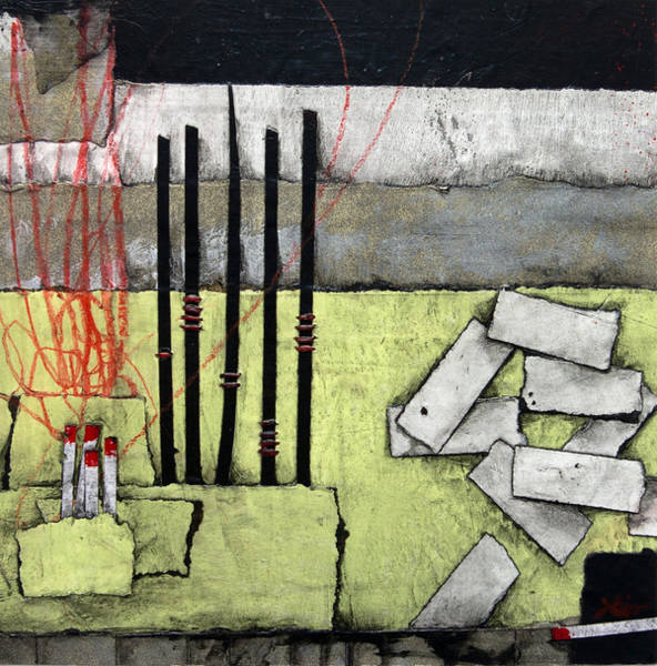 Lights Mixed Media - Inspiration-fire by Laura Lein-Svencner