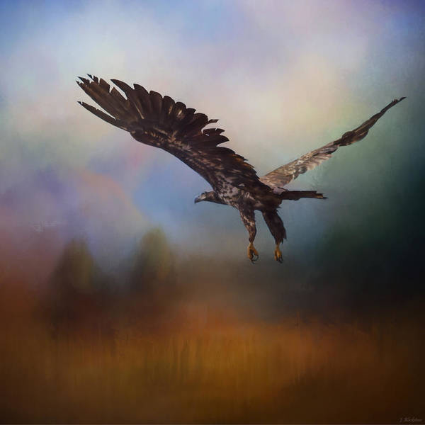 Painting - Inspirational Art - Colors Of The Wind by Jordan Blackstone