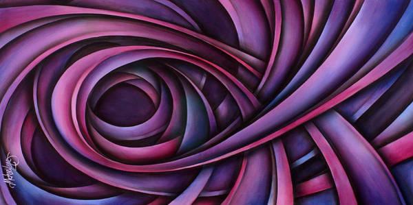 Pink Ribbon Wall Art - Painting - Inspire by Michael Lang