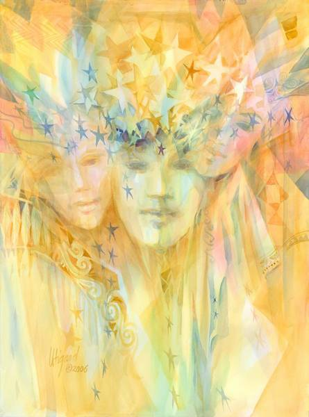 Painting - Inspired by Carolyn Utigard Thomas