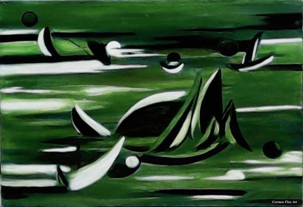 Painting - Instant Season by Carmen Fine Art