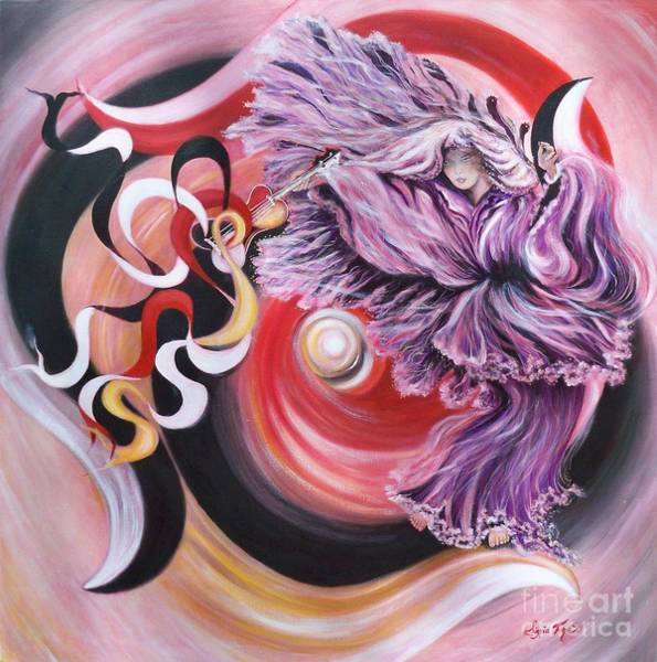 Painting - Gentle Spirit  Integrated Force by Sigrid Tune