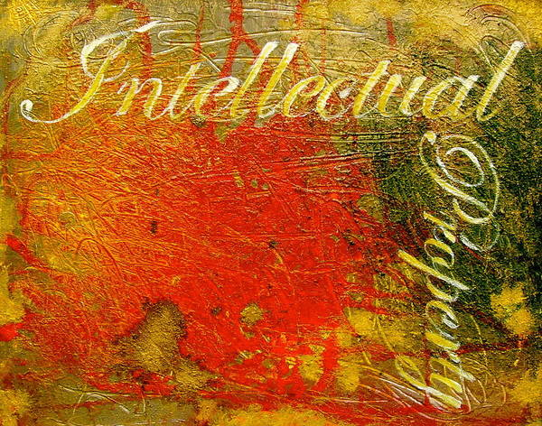 Wall Art - Painting - Intellectual Property by Laura Pierre-Louis