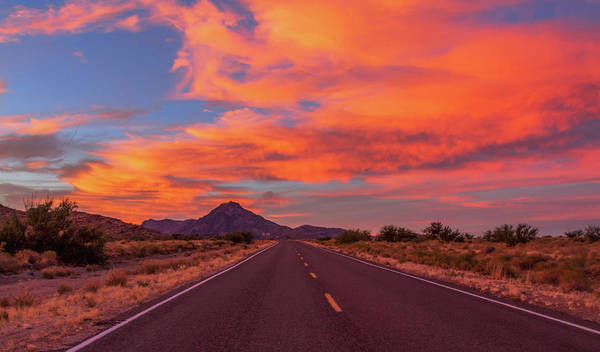 Photograph - Intense Evening Clouds In Arizona by Bonnie Follett