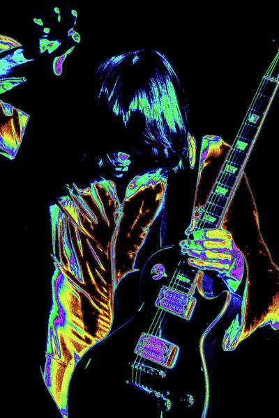 Photograph - Intense Guitar Sounds by Ben Upham