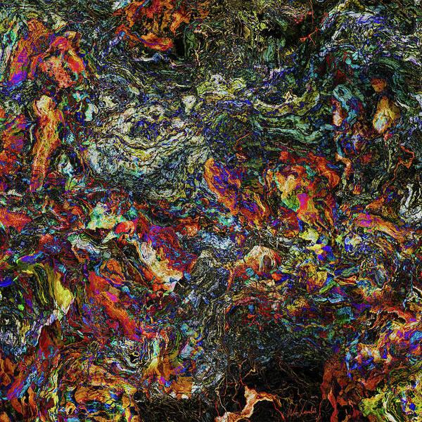Relief Digital Art - Interconnected by Wim Lanclus