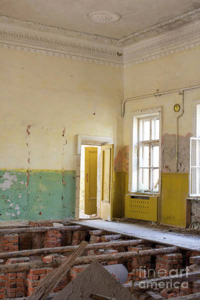 Photograph - Interior, Abandoned Building, Chernobyl Exclusion Zone, Ukraine by Juli Scalzi