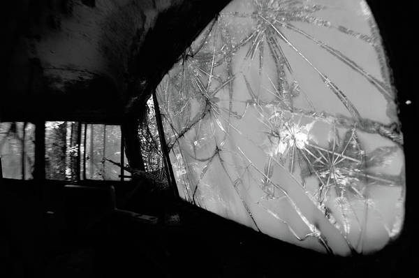 Photograph - Interior In Gray by Matthew Mezo
