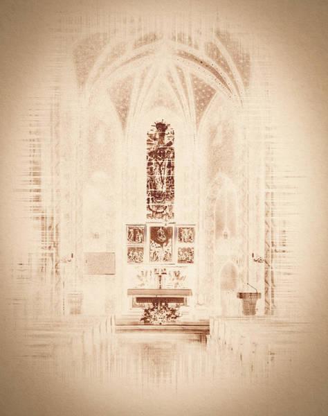 Photograph - Interior Of Polish Church Fine Art by Jacek Wojnarowski