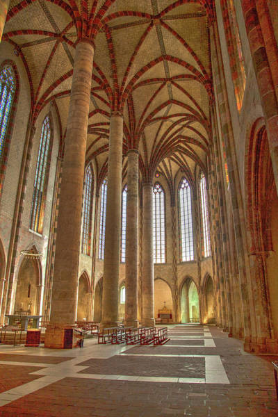 Wall Art - Photograph - Interior Of The Church Of The Jacobins  by W Chris Fooshee