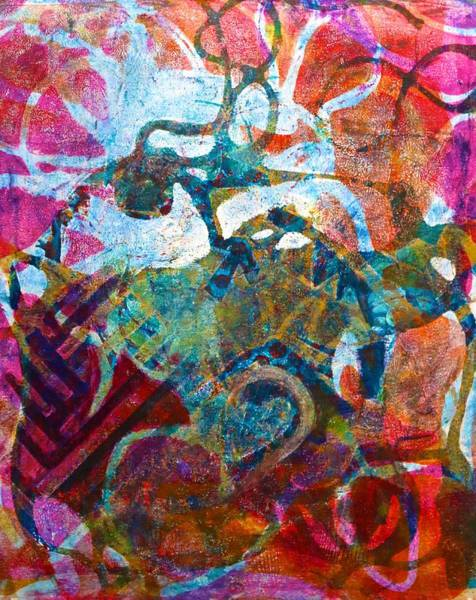 Painting - Interlaced Ambiguities by Polly Castor