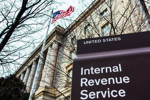Photograph - Internal Revenue Service by SR Green