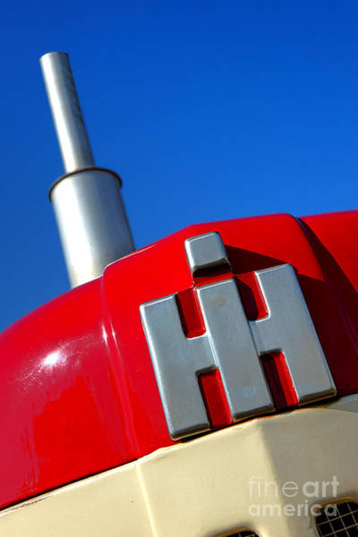 Photograph - International Harvester Tractor  by Olivier Le Queinec