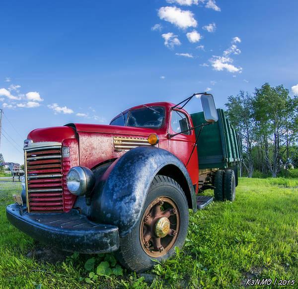 Halifax Nova Scotia Digital Art - International Kb-6 Truck by Ken Morris