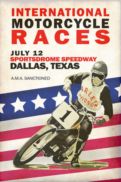 Wall Art - Photograph - International Motorcycle Races Dallas by Mark Rogan