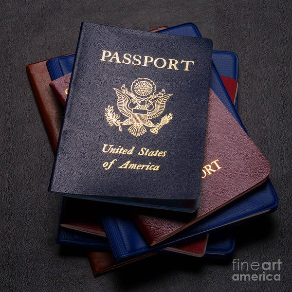 Photograph - International Passports by Olivier Le Queinec
