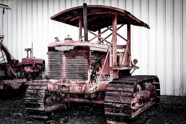 Photograph - International Tractractor Crawler by Gene Parks
