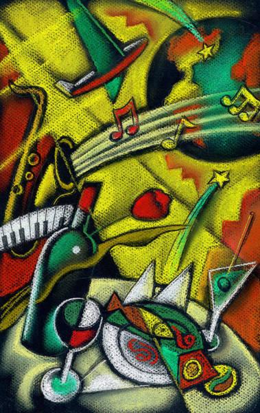 Wall Art - Painting - International Travel by Leon Zernitsky