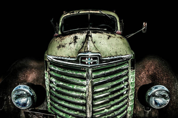 Photograph - International Truck 4 by Michael Arend