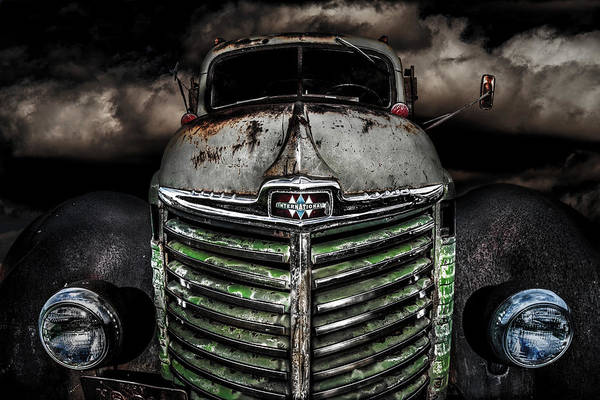Photograph - International Truck 5 by Michael Arend