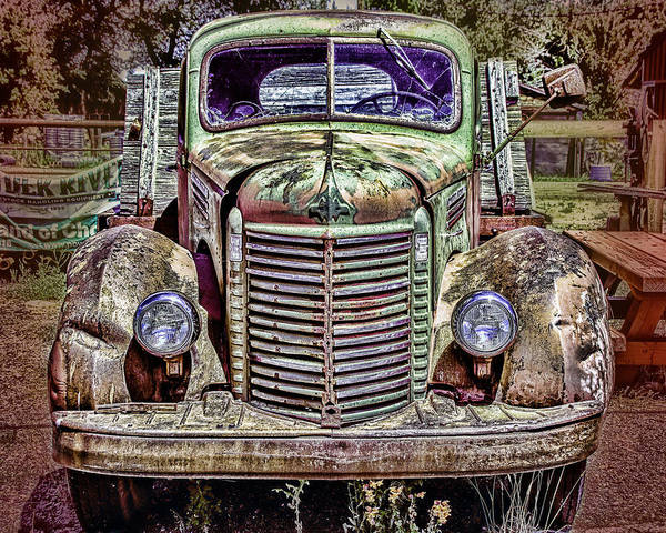 Photograph - International Truck In Sattley by William Havle