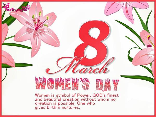 Design Digital Art - International Woman's Day by Super Lovely