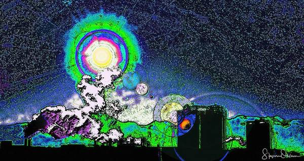 Wall Art - Digital Art - Interplanetary..... - Signed Limited Edition by Steve Ohlsen