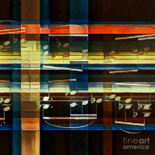 Digital Art - Intersecting Interlude 3 by Lon Chaffin