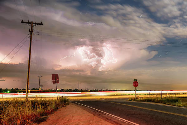 Photograph - Intersection Storm by James BO Insogna