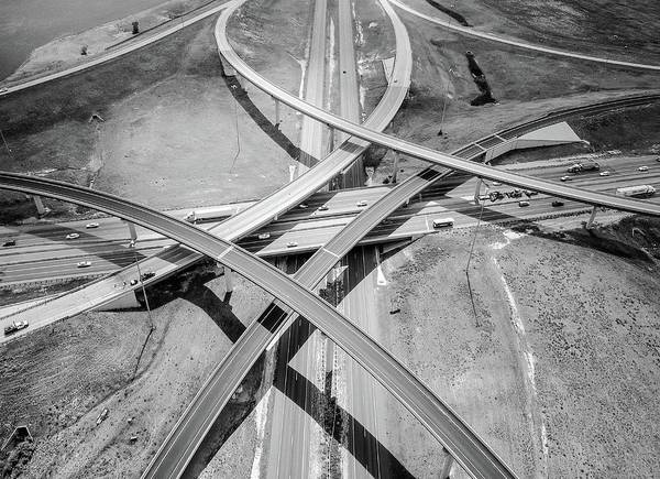 Photograph - Intersections 2 by Rand