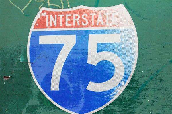 I-75 Photograph - Interstate 75 by Deborah Magasark