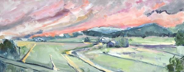 Painting - Interstate 81 Mile Marker 210 Augusta County Virginia Usa by Donna Tuten
