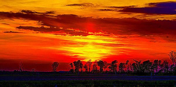 Photograph - Interstate Sunset by Jeff Kurtz