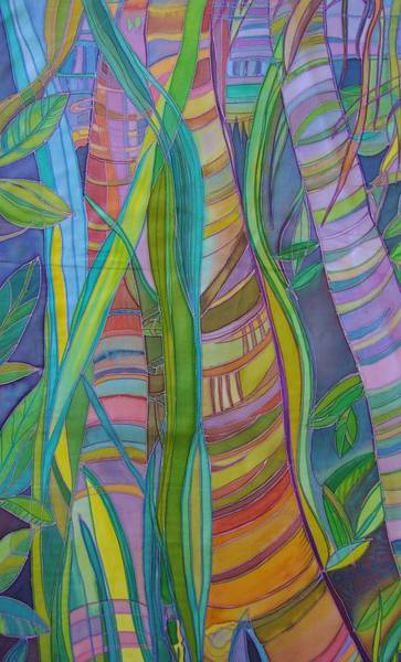 Entangled Painting - Intertwined by Sue Wilson