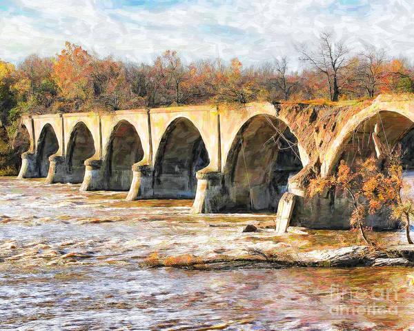 Ohio River Photograph - Interurban Bridge by Jack Schultz