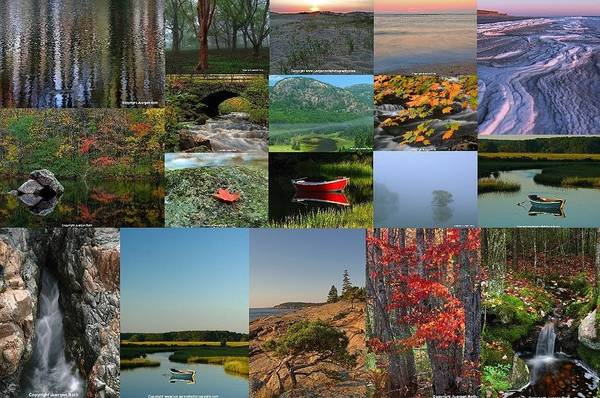 Photograph - Intimate New England Landscape Photography by Juergen Roth