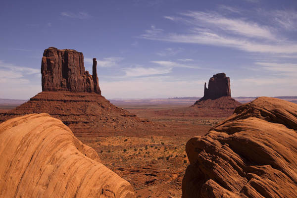 Cloudscape Wall Art - Photograph - Into Monument Valley by Andrew Soundarajan