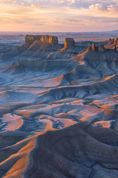 Art Print featuring the photograph Into The Badlands by Dustin  LeFevre