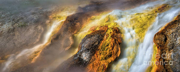 Photograph - Into The Firehole by Anthony Michael Bonafede