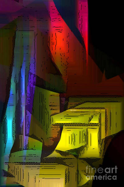 Digital Art - Into The Glow by Rafael Salazar