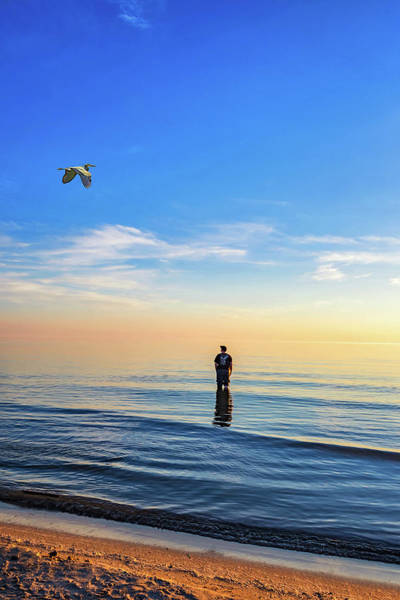Sauble Beach Photograph - Into The Great Blue Yonder by Steve Harrington
