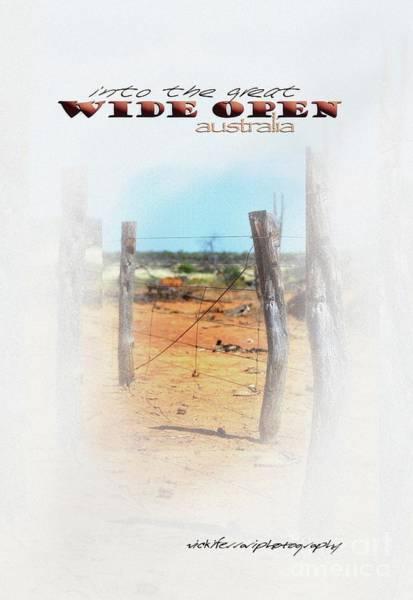 Photograph - Into The Great Wide Open Australia 1 by Vicki Ferrari