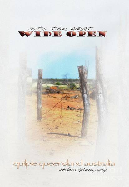 Photograph - Into The Great Wide Open Australia 2 by Vicki Ferrari