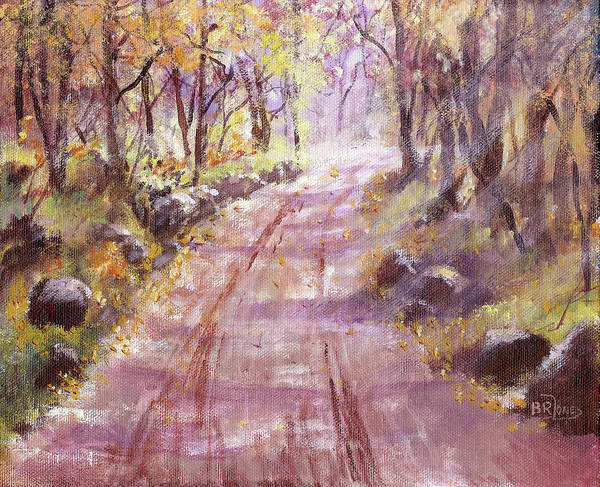 Painting - Into The Light by Barry Jones