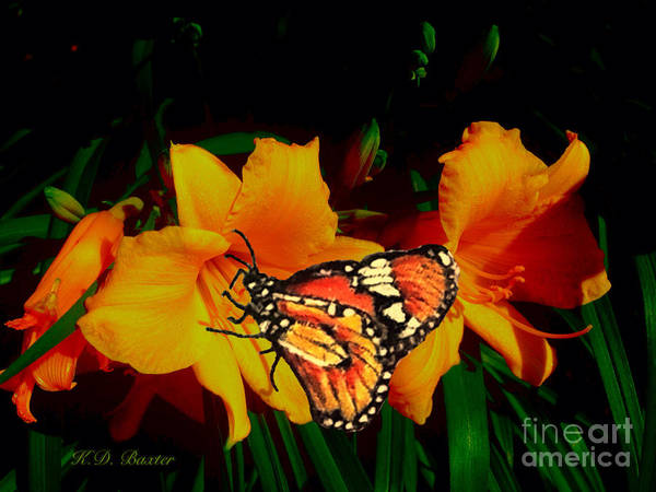 Nectar Mixed Media - Into The Light Of Day by Kimberlee Baxter